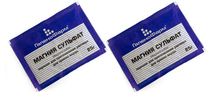 Чистка печени магнезией: сульфат магния в действии