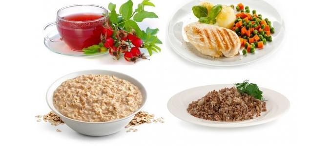 Питание при хроническом холецистите: список продуктов